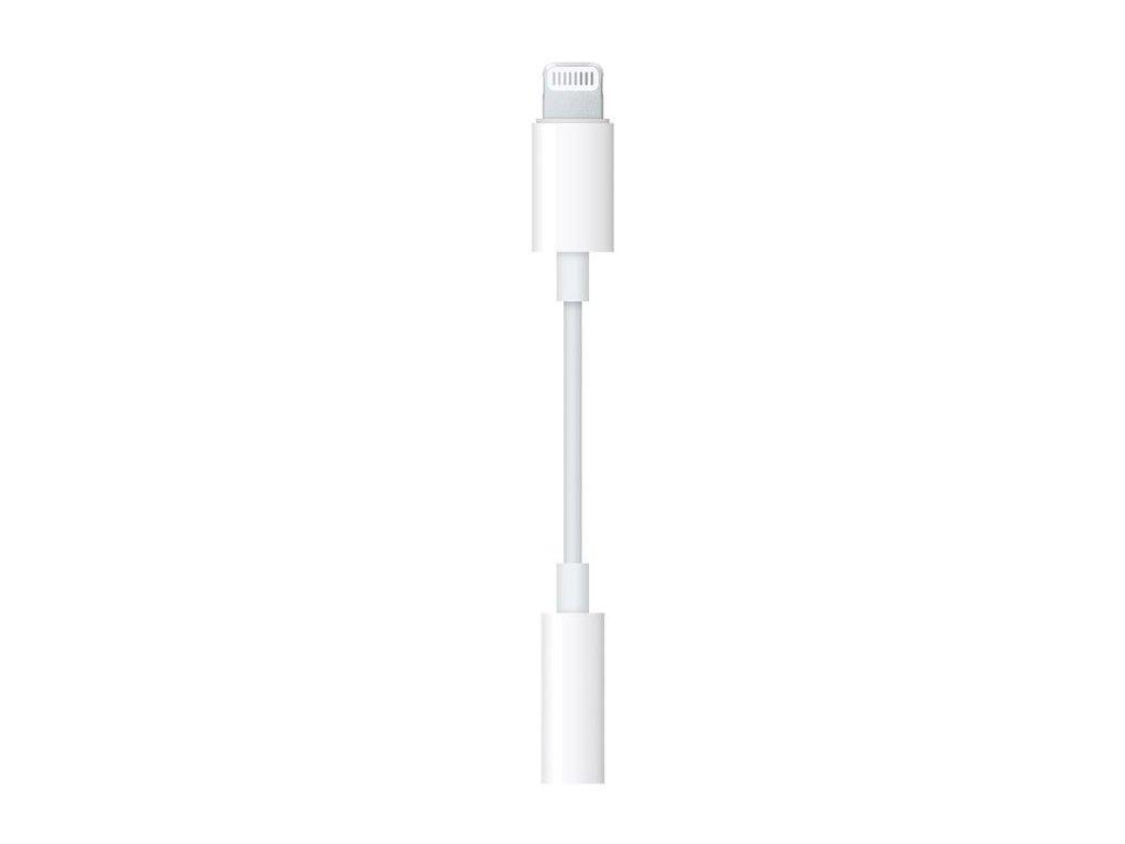 Originální Apple Lightning adaptér pro 3,5mm sluchátkový jack
