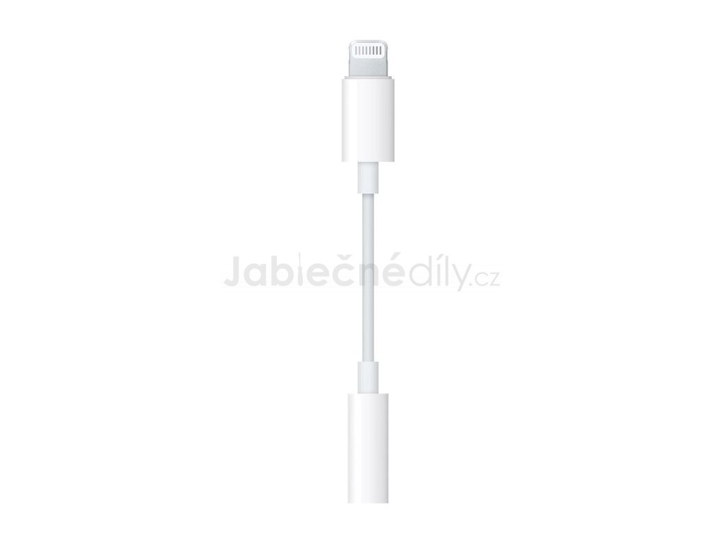 Redukce 3,5 mm Jack - Lightning kabel