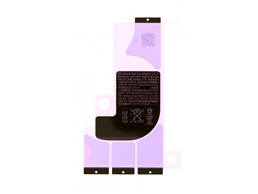 Lepící proužky na baterii iPhone X
