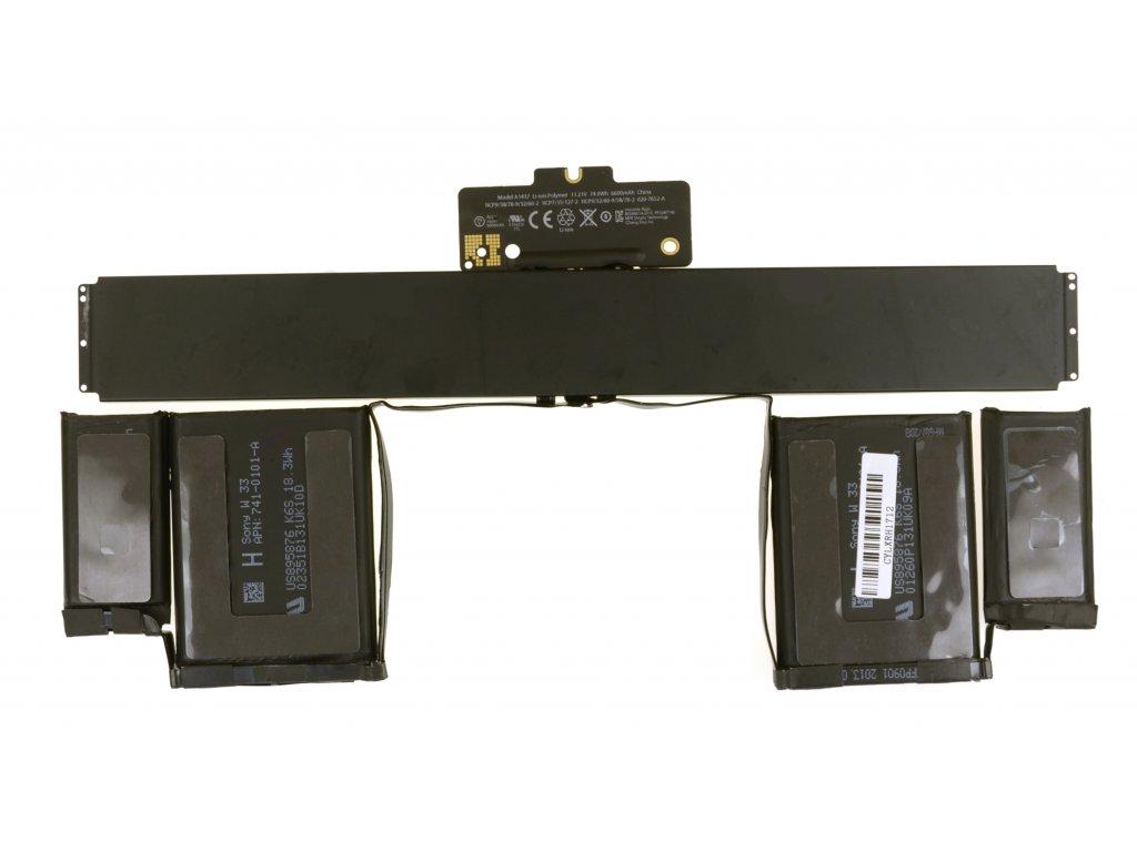 "Baterie MacBook Pro 13"" A1425 ( 2012 - 2013 ), typ baterie A1437"