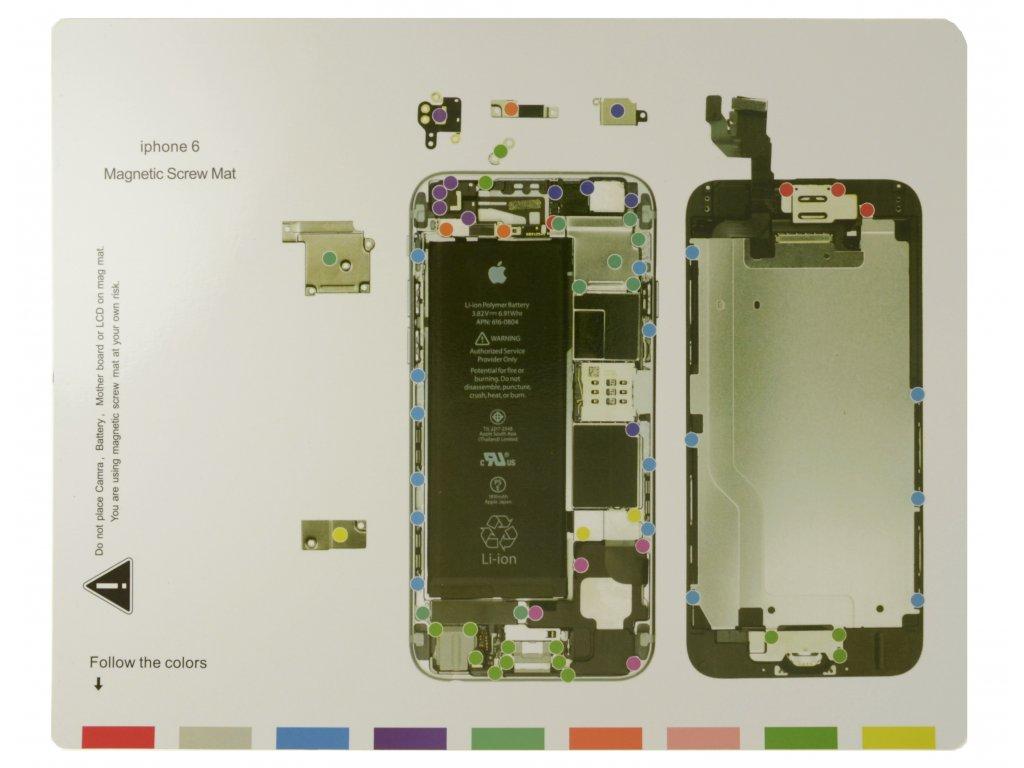 Magnetická podložka - iPhone 6