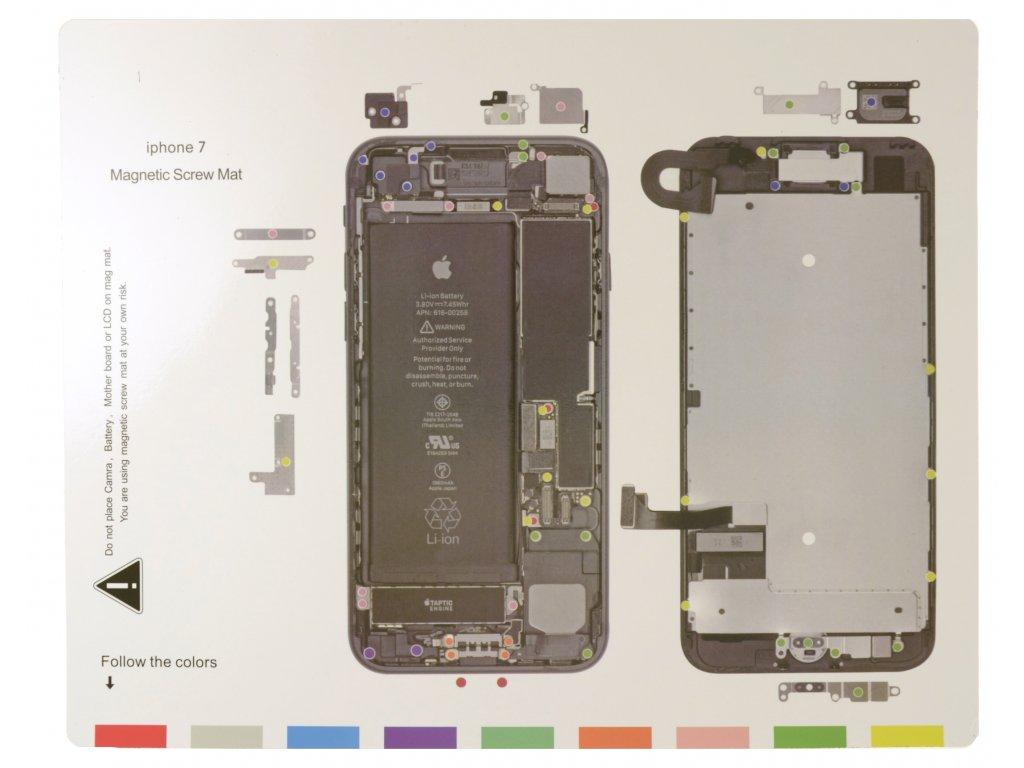 Magnetická podložka - iPhone 7