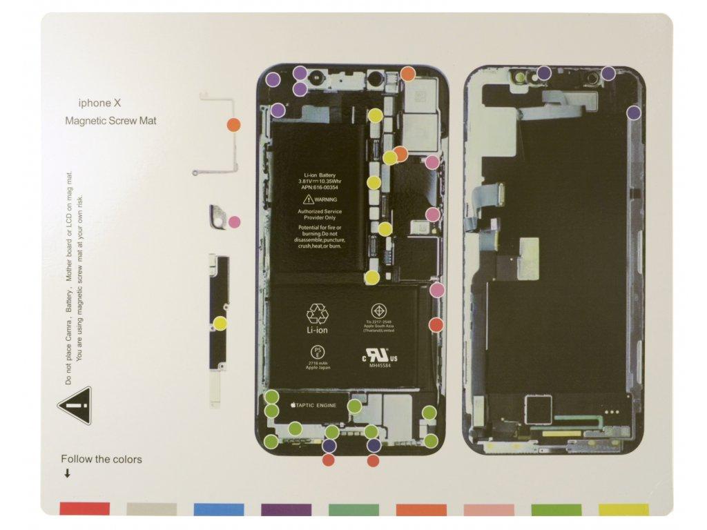 Magnetická podložka - iPhone X