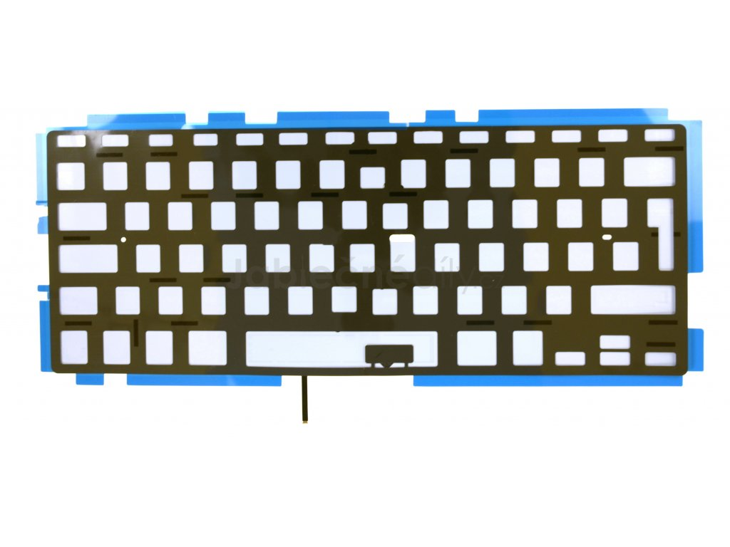 """Podsvícení klávesnice CZ/UK/SK/RU MacBook Pro 13"""" A1278"""