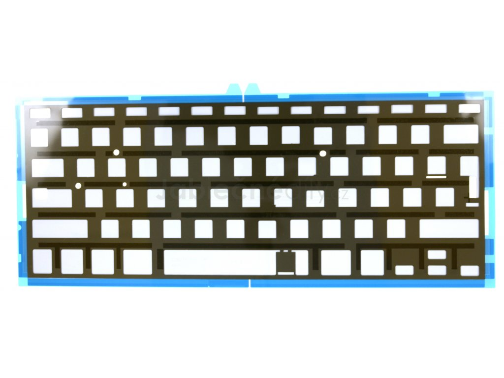 """Podsvícení klávesnice CZ/UK/SK/RU MacBook Air 13"""" A1466 / A1369"""