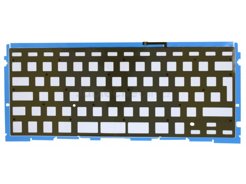 """Podsvícení klávesnice CZ/UK/SK/RU MacBook Pro 15"""" A1398"""