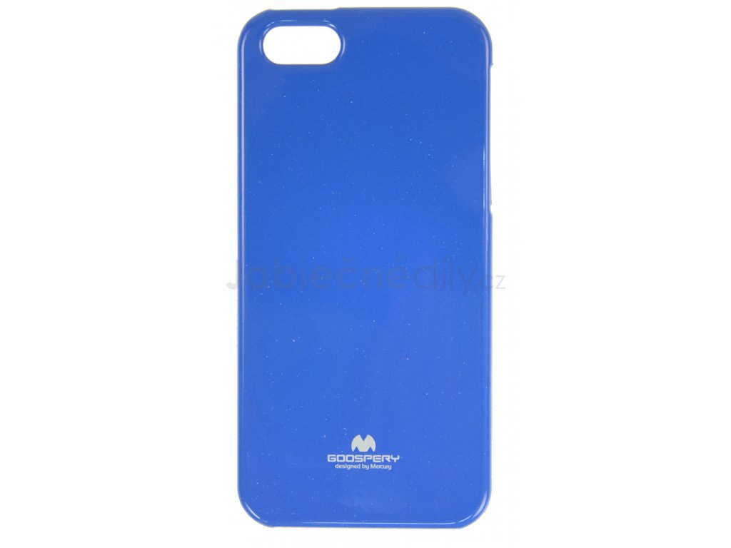 Ochranný kryt Goospery Jelly iPhone 5/5s/SE - modrý