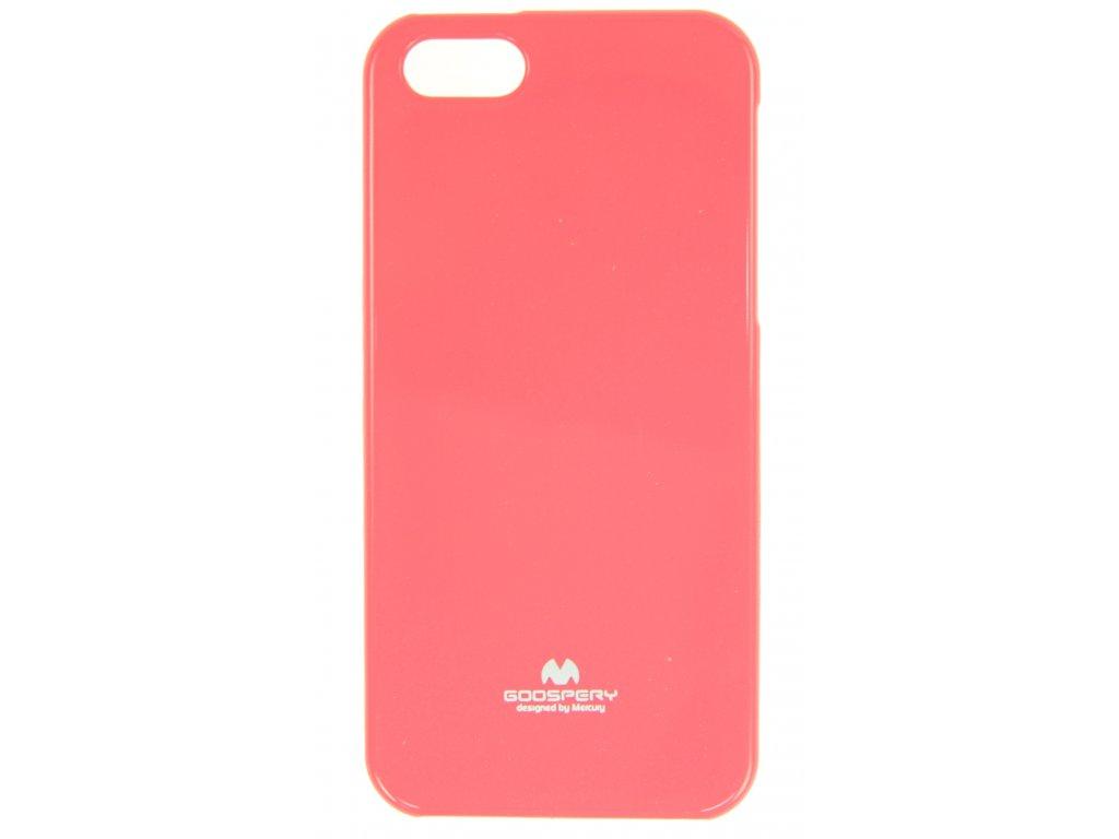 Ochranný kryt Goospery Jelly iPhone 5/5s/SE - růžový