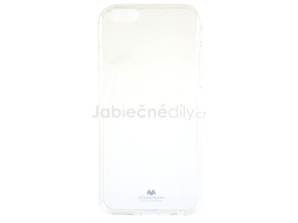Ochranný kryt Goospery Jelly iPhone 6/6s - průhledný