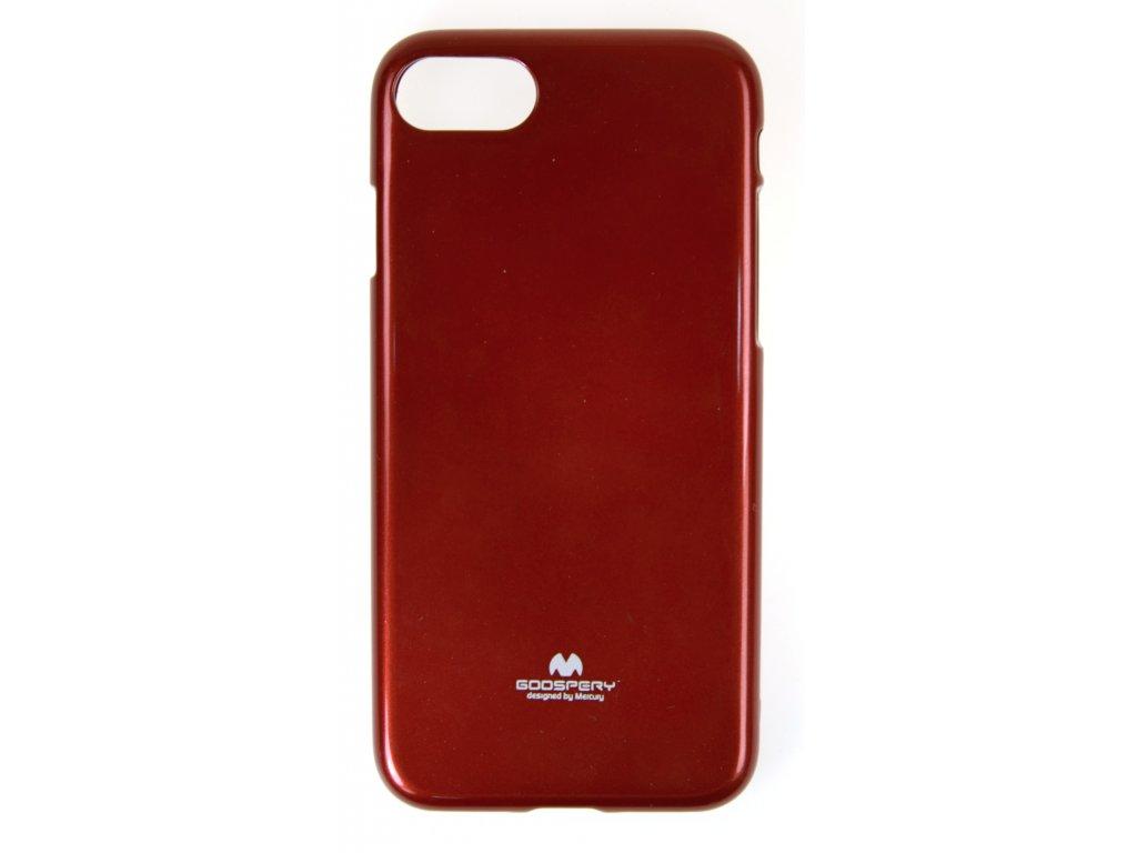 Ochranný kryt Goospery Jelly iPhone 7/8/SE (2020) - červený