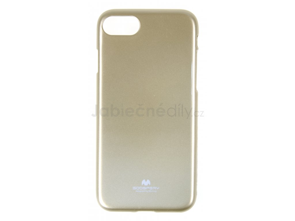 Ochranný kryt Goospery Jelly iPhone 7/8/SE (2020) - zlatý
