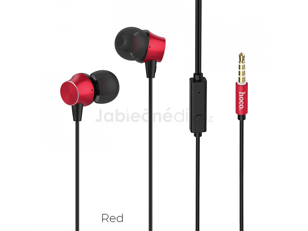 Slucháka HOCO M51 - Red