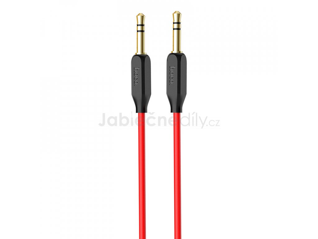 AUX kabel HOCO UPA11 - Red