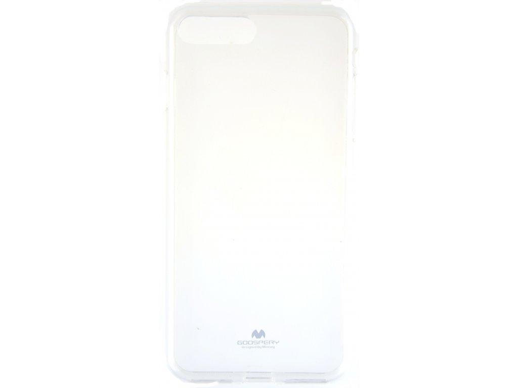 Ochranný kryt Goospery Jelly iPhone 7+/8+ - průhledný