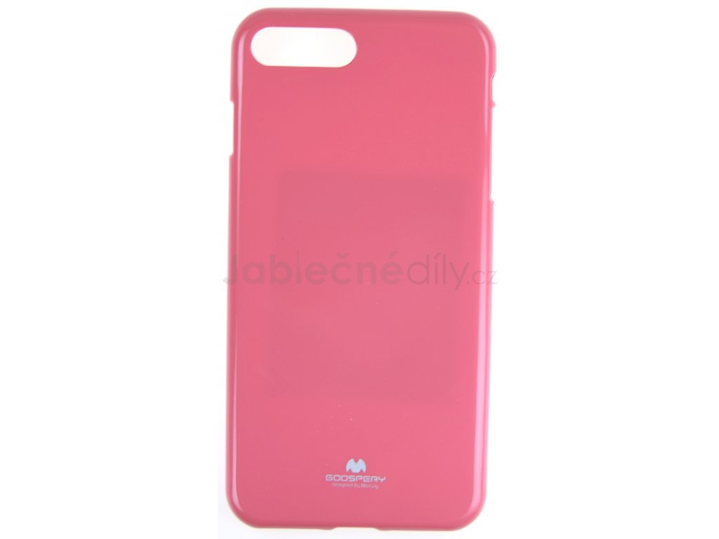 Ochranný kryt Goospery Jelly iPhone 7+/8+ - růžový