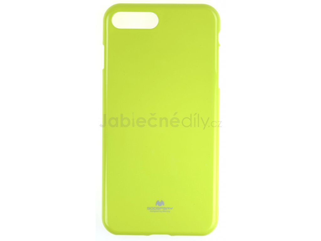 Ochranný kryt Goospery Jelly iPhone 7+/8+ - zelený