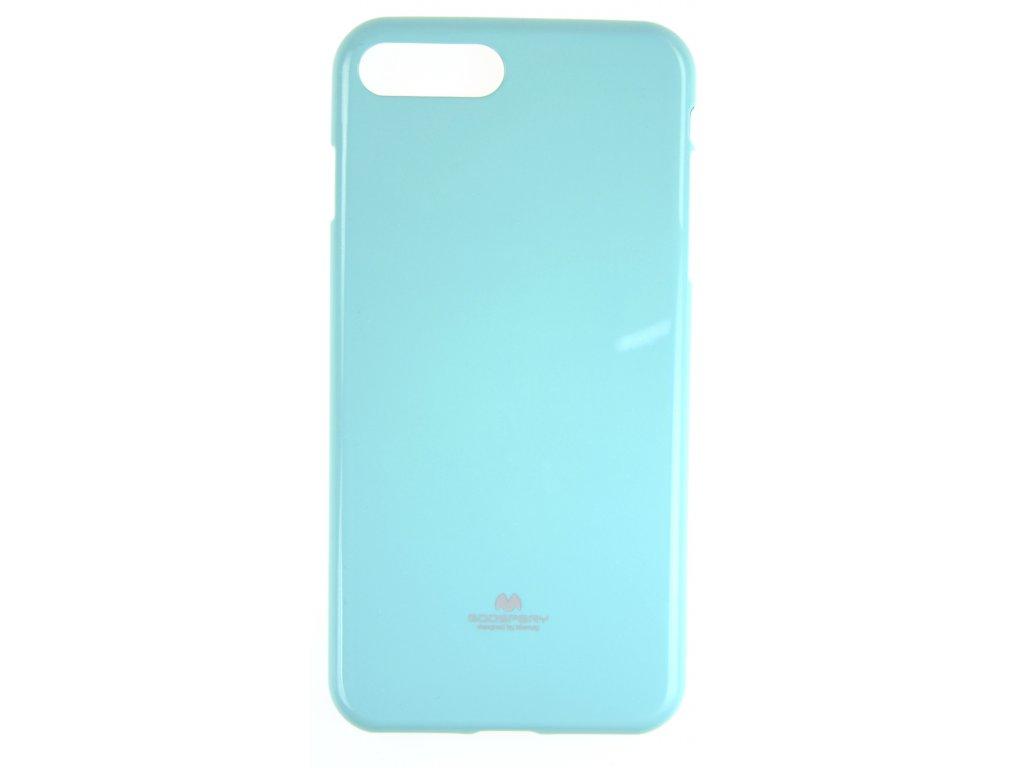 Ochranný kryt Goospery Jelly iPhone 7+/8+ - tyrkysový