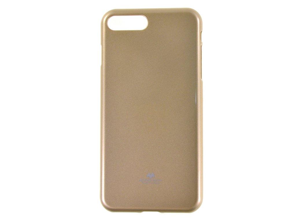 Ochranný kryt Goospery Jelly iPhone 7+/8+ - zlatý