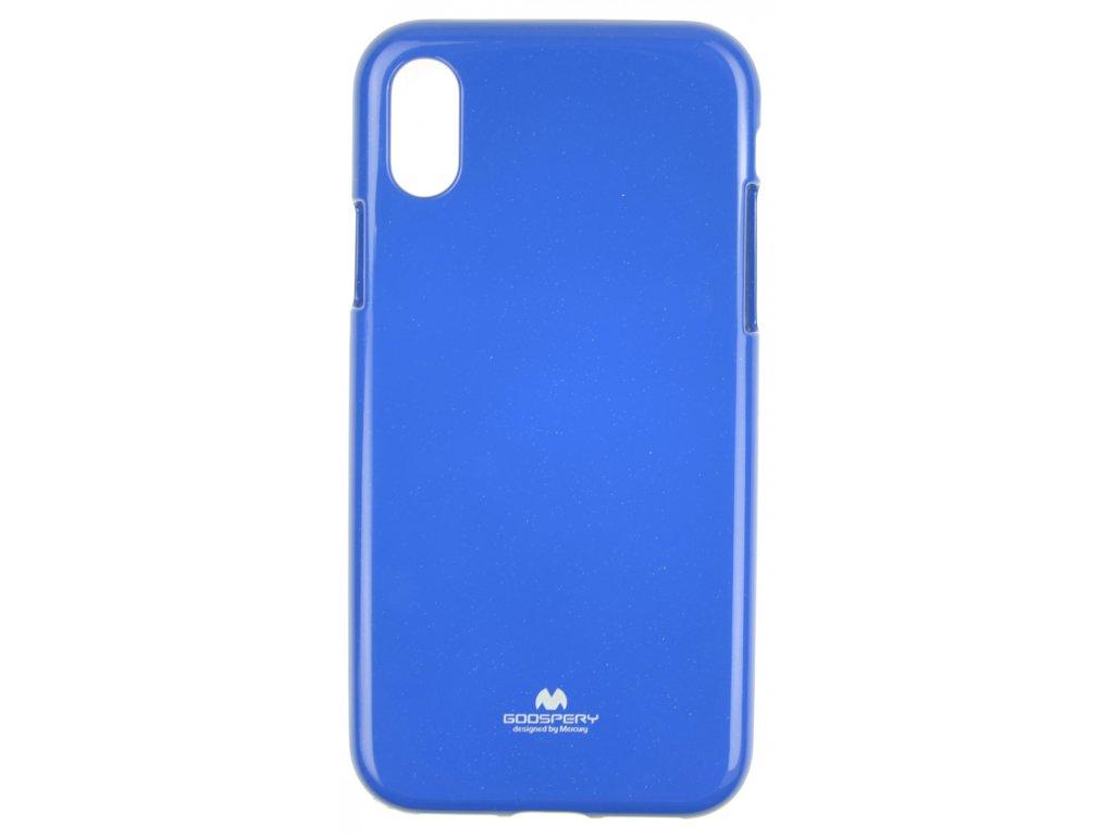 Ochranný kryt Goospery Jelly iPhone X/XS - modrý