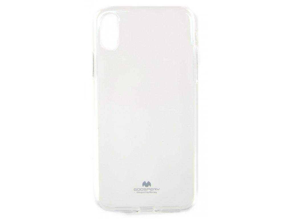 Ochranný kryt Goospery Jelly iPhone XS Max - průhledný