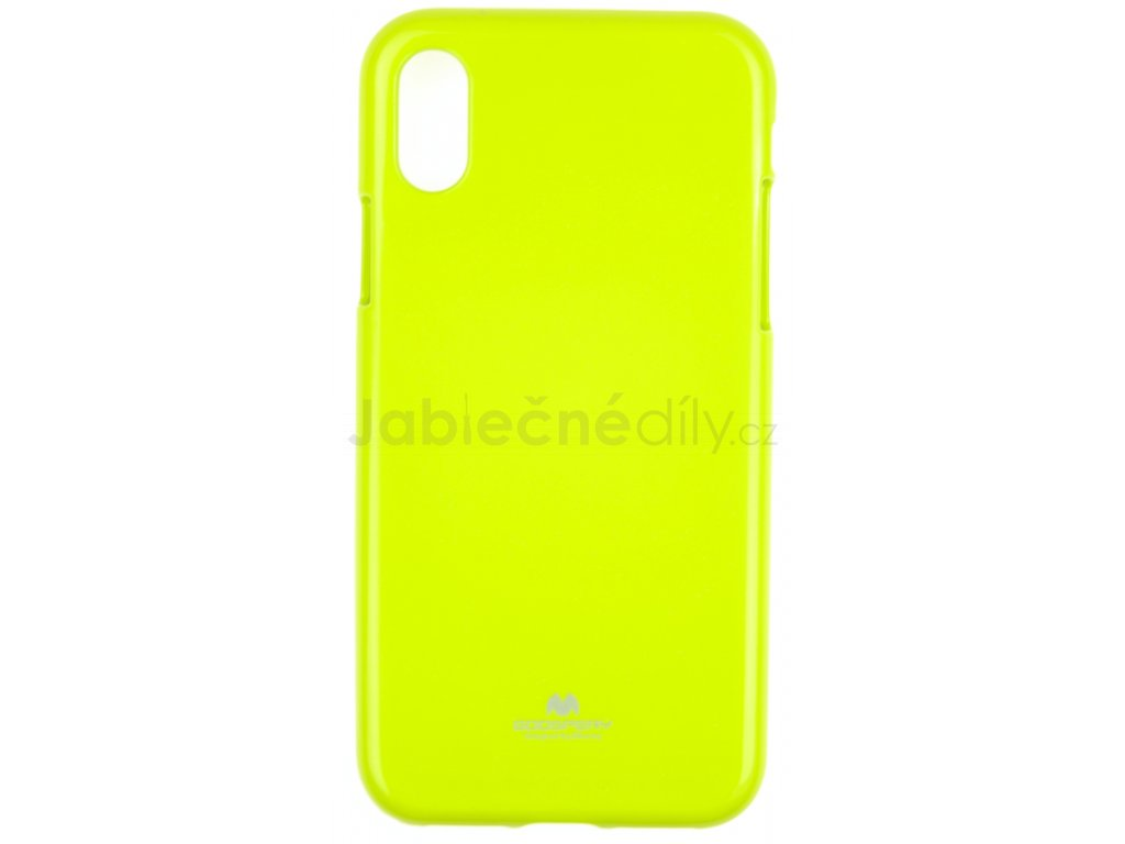 Ochranný kryt Goospery Jelly iPhone XS Max - zelený
