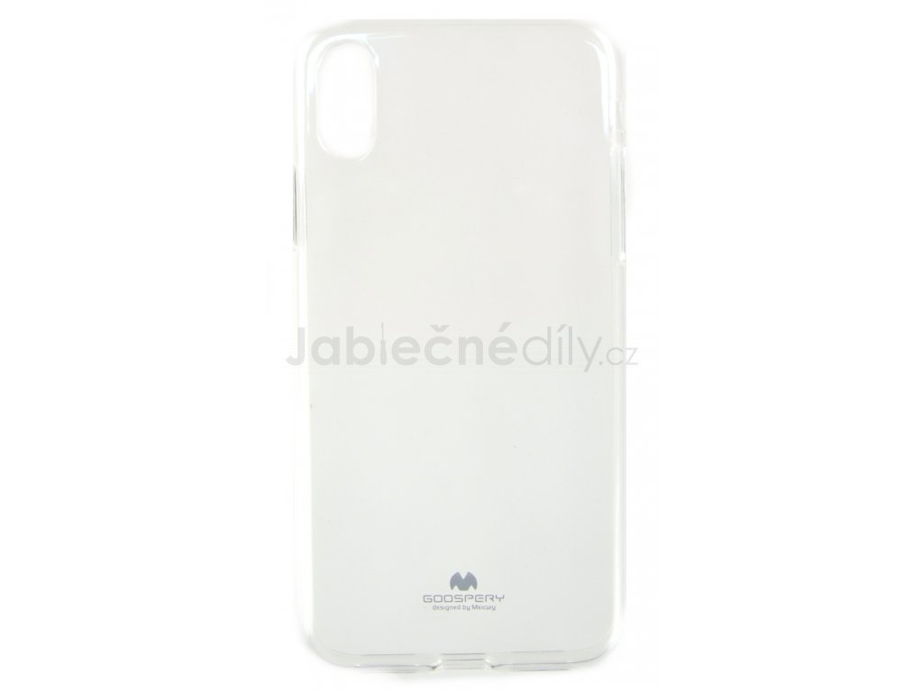 Ochranný kryt Goospery Jelly iPhone XR - průhledný