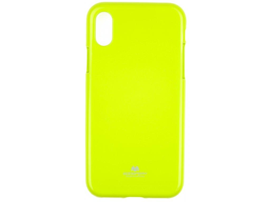 Ochranný kryt Goospery Jelly iPhone XR - zelený