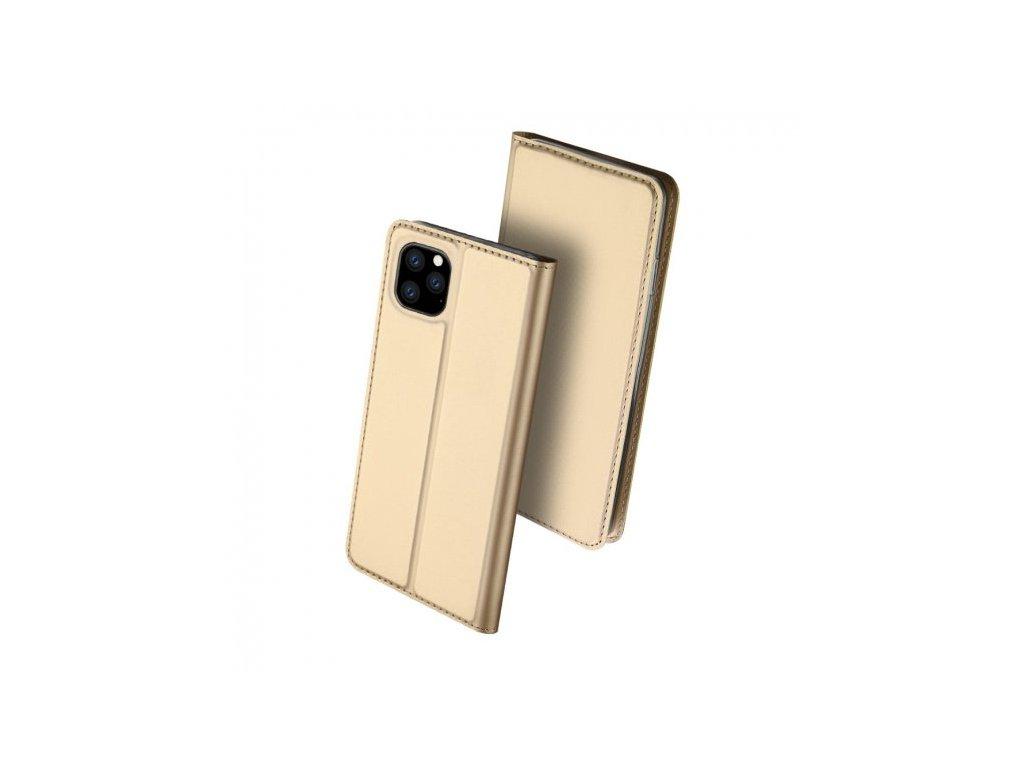 dux ducis flipove pouzdro se stojankem pro iphone 11 pro zlate