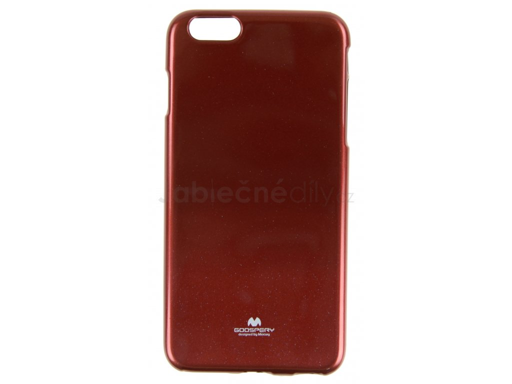 Ochranný kryt Goospery Jelly iPhone 6+/6s+ - červený