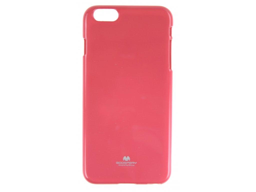 Ochranný kryt Goospery Jelly iPhone 6+/6s+ - růžový
