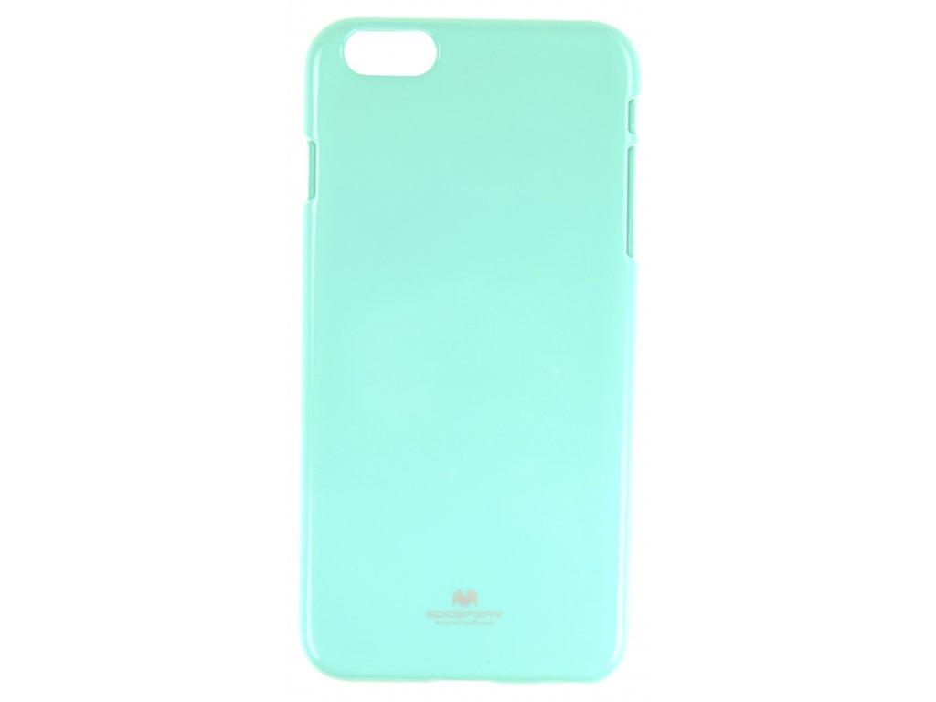 Ochranný kryt Goospery Jelly iPhone 6+/6s+ - tyrkysový