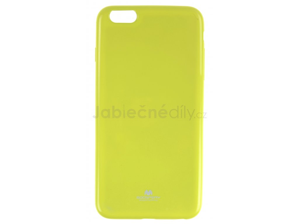 Ochranný kryt Goospery Jelly iPhone 6+/6s+ - zelený