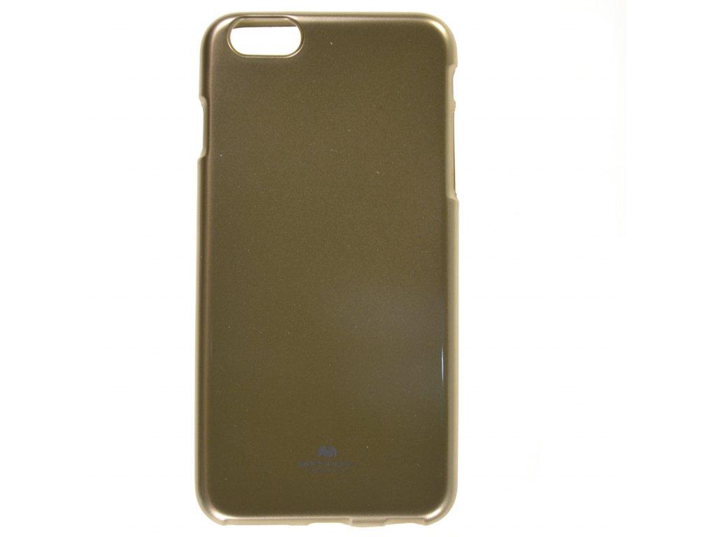 Ochranný kryt Goospery Jelly iPhone 6+/6s+ - zlatý