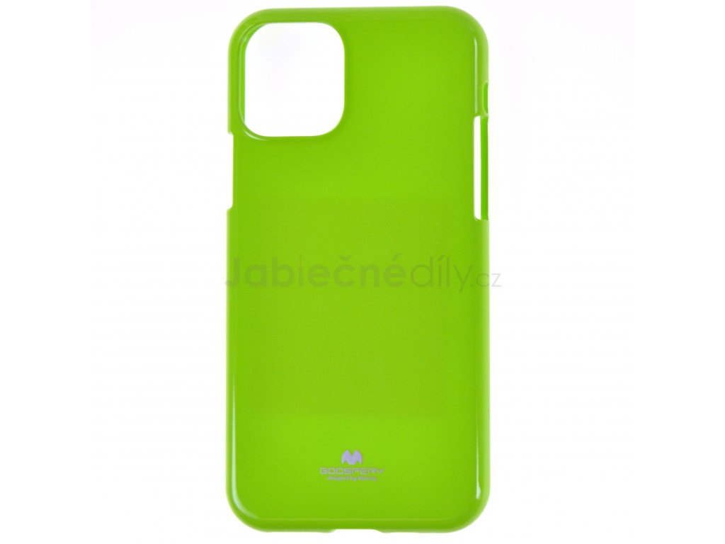 Ochranný kryt Goospery Jelly iPhone 11 - zelený