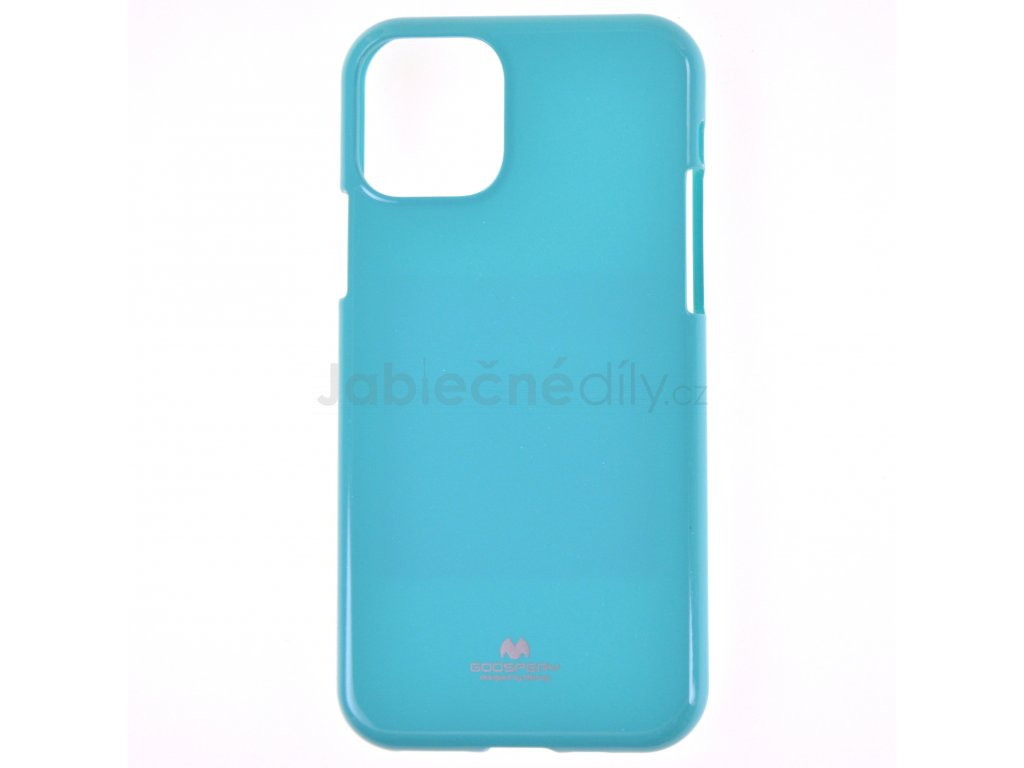 Ochranný kryt Goospery Jelly iPhone 11 - tyrkysový