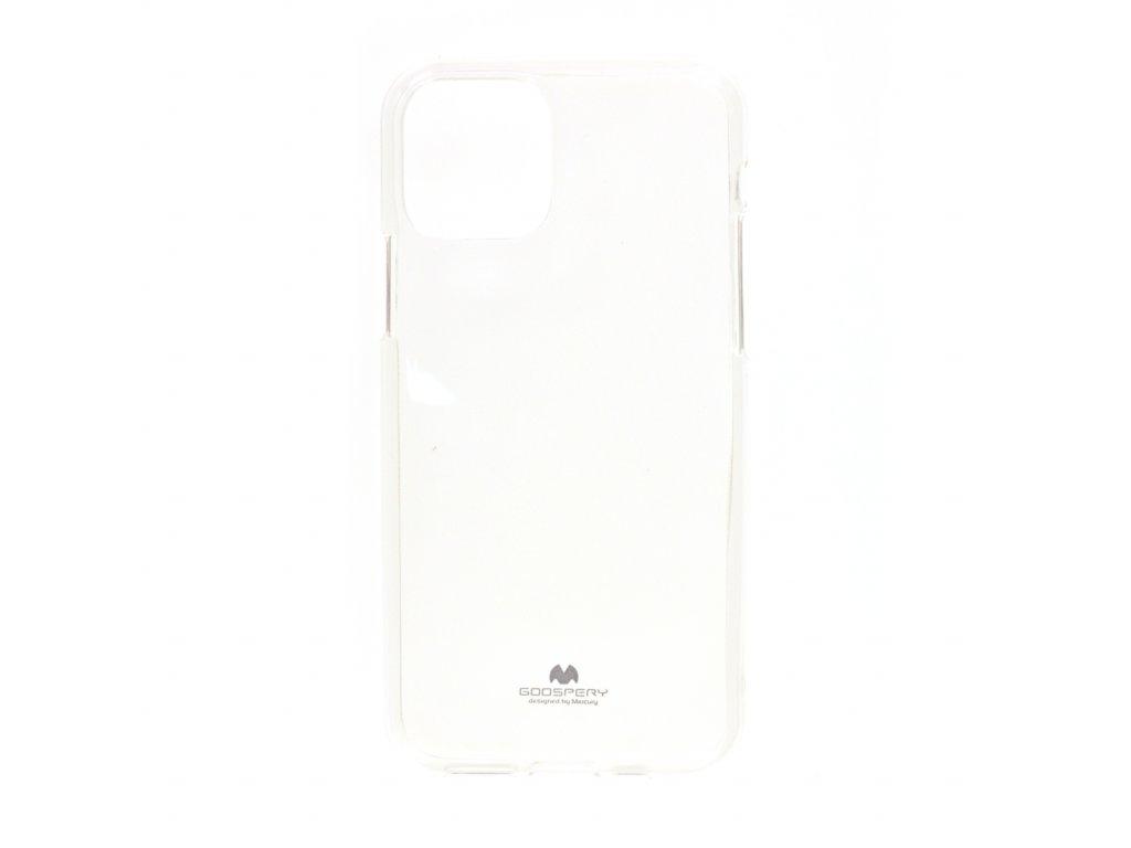 Ochranný kryt Goospery Jelly iPhone 11 Pro - průhledný