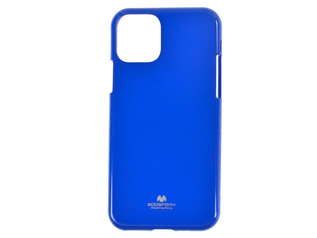 Ochranný kryt Goospery Jelly iPhone 11 Pro Max - modrý