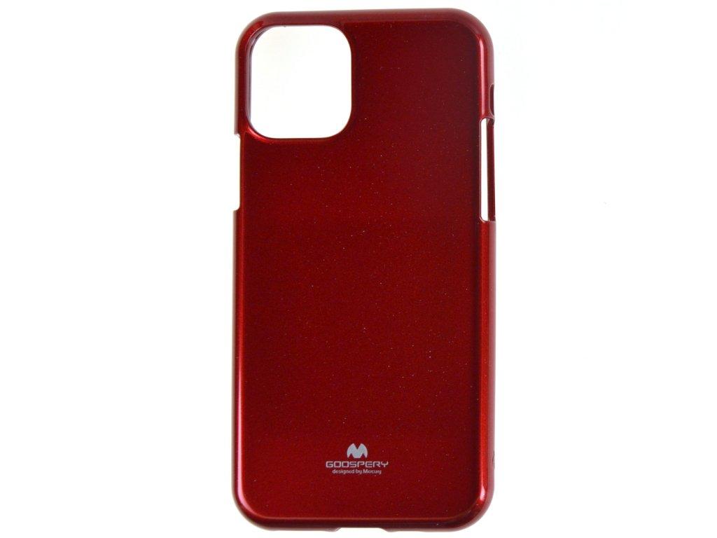Ochranný kryt Goospery Jelly iPhone 11 Pro Max - červený