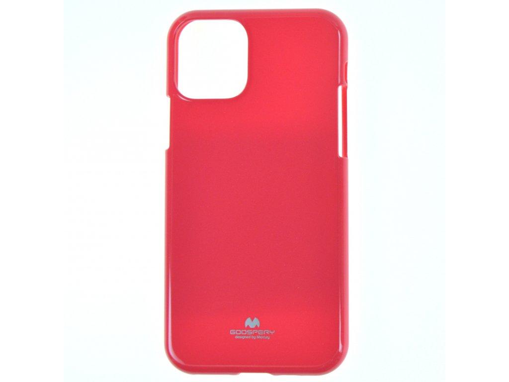 Ochranný kryt Goospery Jelly iPhone 11 Pro Max - růžový