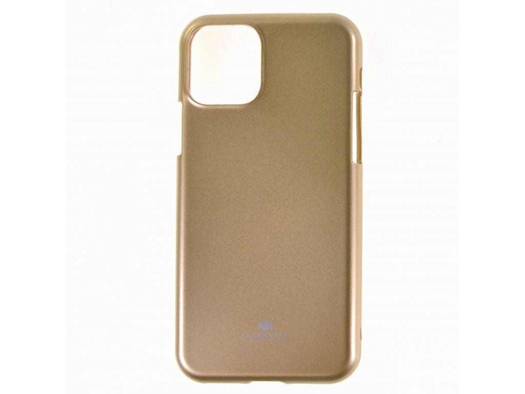 Ochranný kryt Goospery Jelly iPhone 11 Pro Max - zlatý
