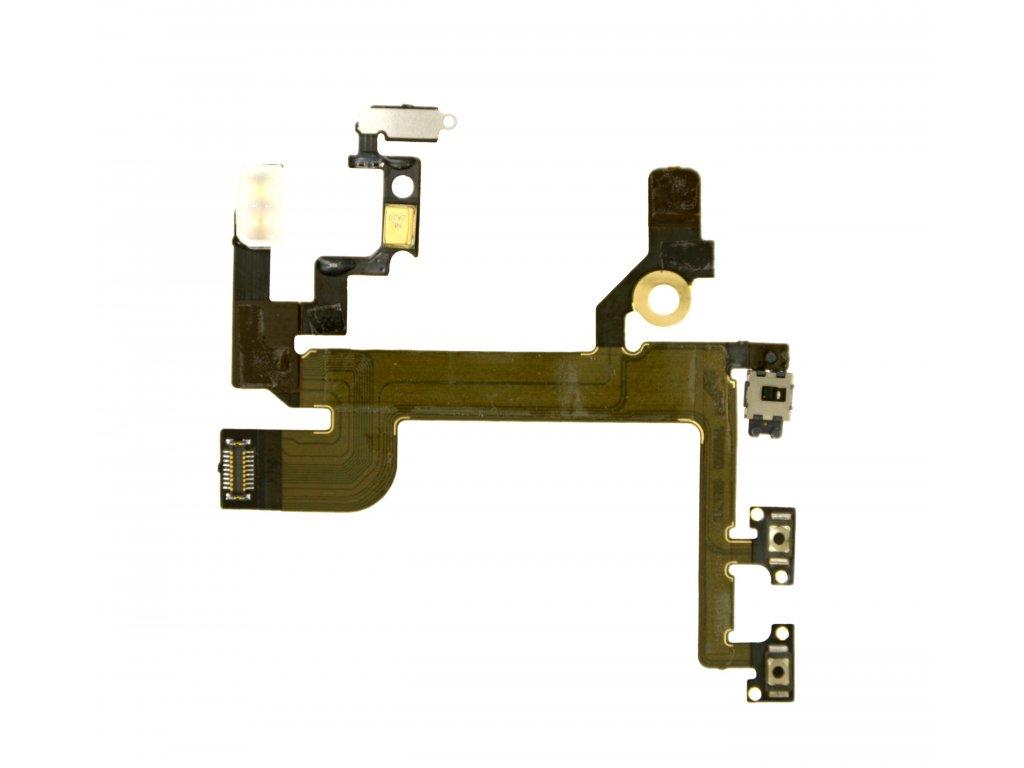 Power tlačítko a volume tlačítka iPhone SE
