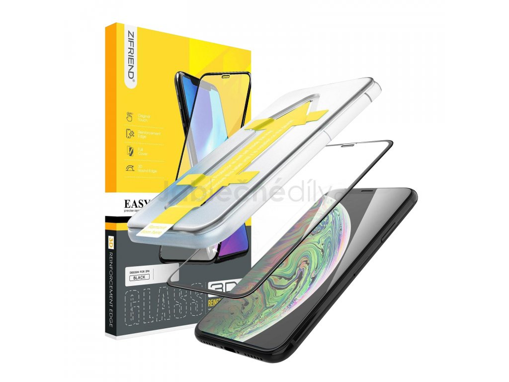 Ochranné tvrzené 3D sklo iPhone SE (2020)