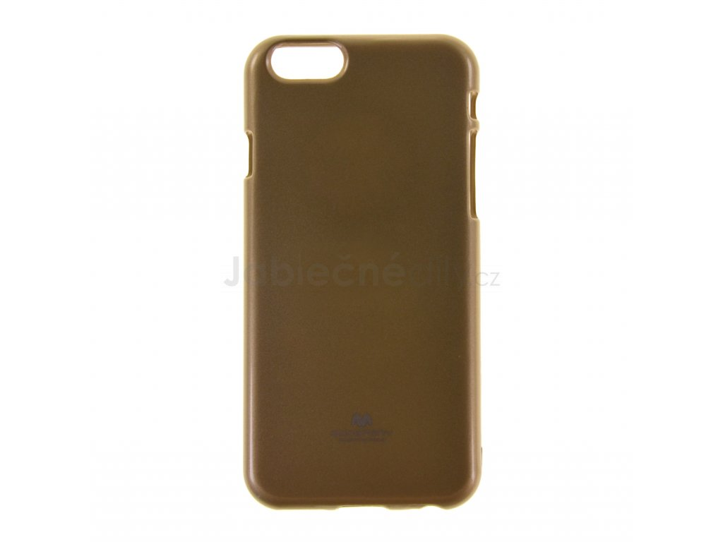 Ochranný kryt Goospery Jelly iPhone 6/6s - zlatý
