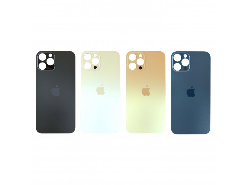 Zadní sklo iPhone 12 Pro (větší otvor na kameru)