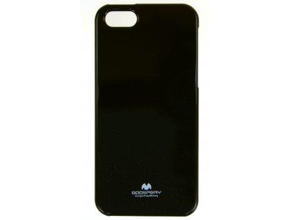 Ochranný kryt Goospery Jelly iPhone 5/5s/SE - černý