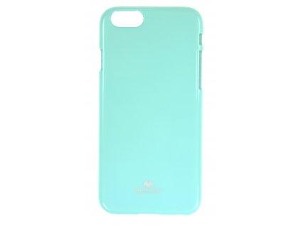 Ochranný kryt Goospery Jelly iPhone 6/6s - tyrkysový