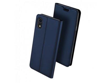dux ducis flipove pouzdro pro iphone xr tmave modre