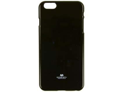 Ochranný kryt Goospery Jelly iPhone 6+/6s+ - černý