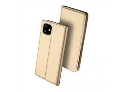 dux ducis flipove pouzdro se stojankem pro iphone 11 zlate