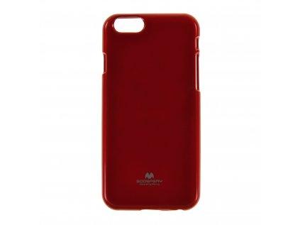 Ochranný kryt Goospery Jelly iPhone 6/6s - červený